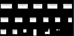 Piktogramy Modena
