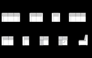 Piktogramy Tajga